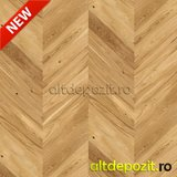 Parchet Triplustratificat Chevron Stejar Caramel 14MM